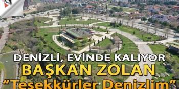 """Başkan Osman Zolan: """"Teşekkürler Denizlim"""""""