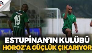 Oscar Estupinan'ın kulübü Horoz'a güçlük çıkarıyor!