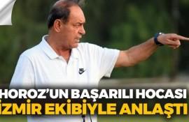 Horoz'un başarılı hocası İzmir ekibiyle anlaştı