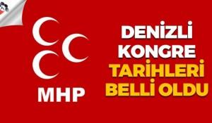 MHP Denizli'de kongre tarihleri belli oldu