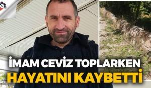 Ceviz toplarken elektrik akımına kapılan imam hayatını kaybetti